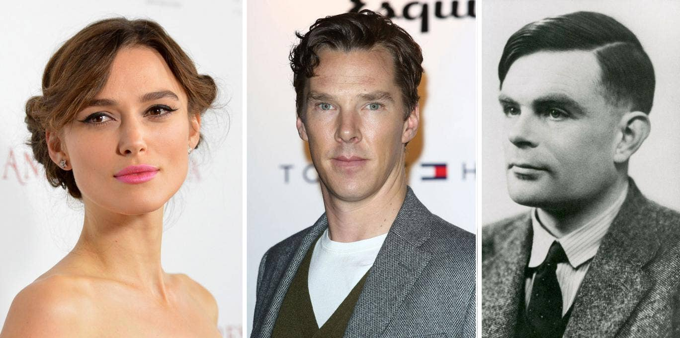 Keira Knightley is in talks to co-star with Benedict Cumberbatch in a biopic about Alan Turing