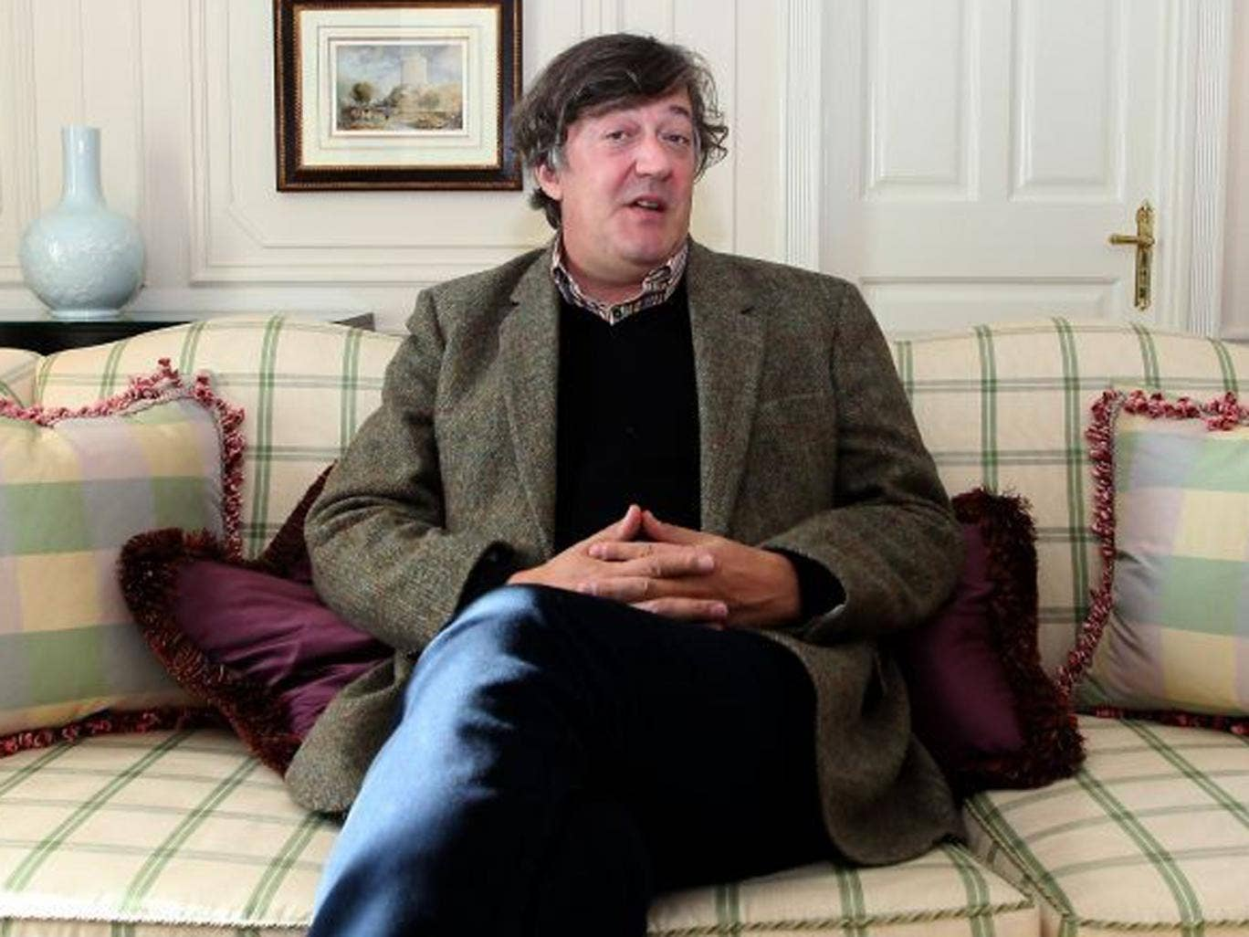 Actor, author, presenter and director Stephen Fry was diagnosed with a bipolar disorder