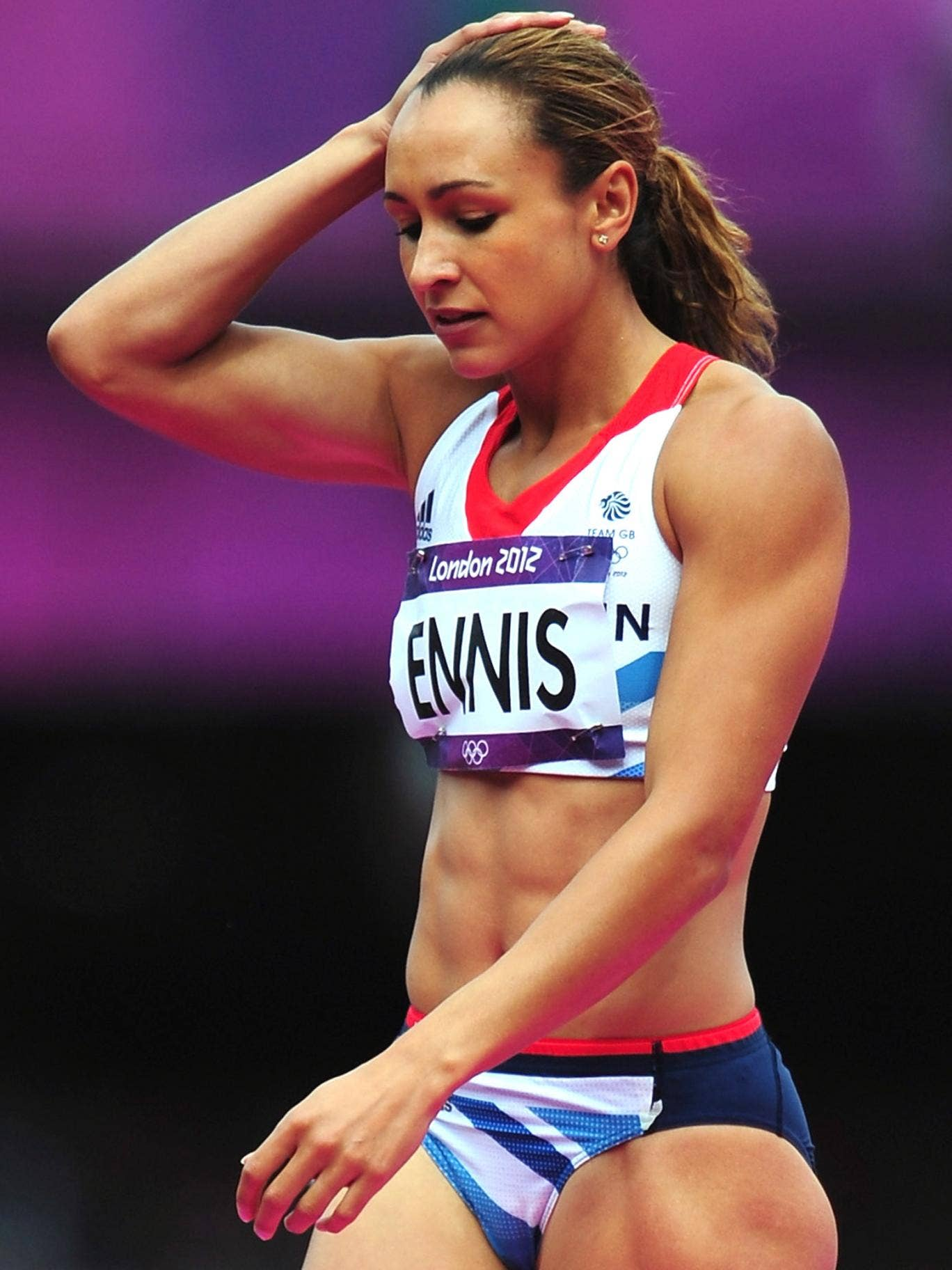 Jessica Ennis-Hill has been told to rest a stiff achilles tendon