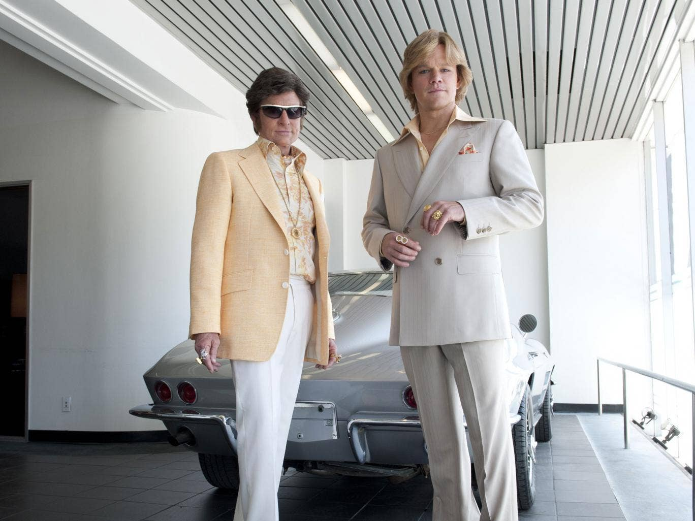 The bling ring-leaders: Michael Douglas and Matt Damon shine in Steven Soderbergh's Liberace biopic, 'Behind the Candelabra'