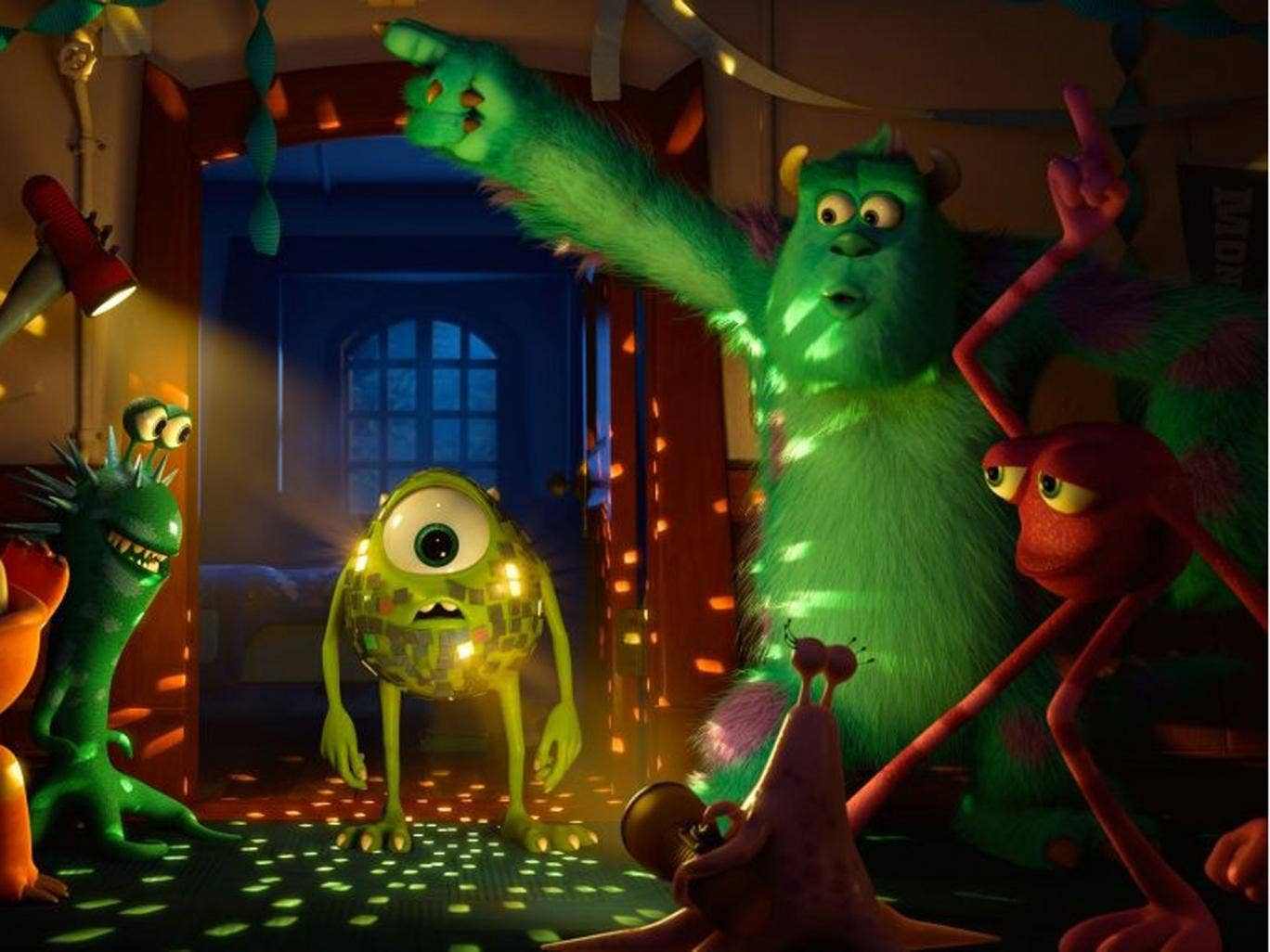 Let's dance: 'Monsters University'