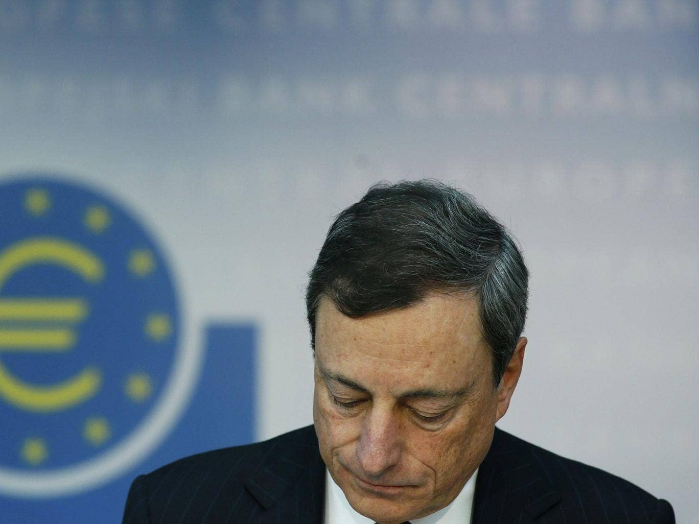 Mario Draghi, the President of the ECB