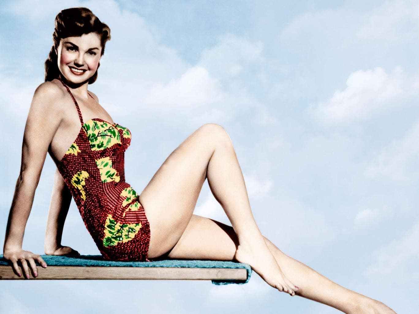 Esther Williams was a former champion swimmer turned movie star