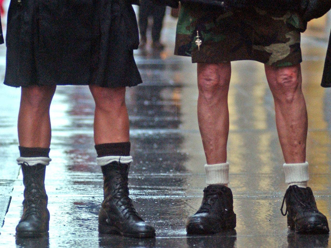 Train drivers in Stockholm are wearing skirts to dodge their employer's ban on shorts (stock image)