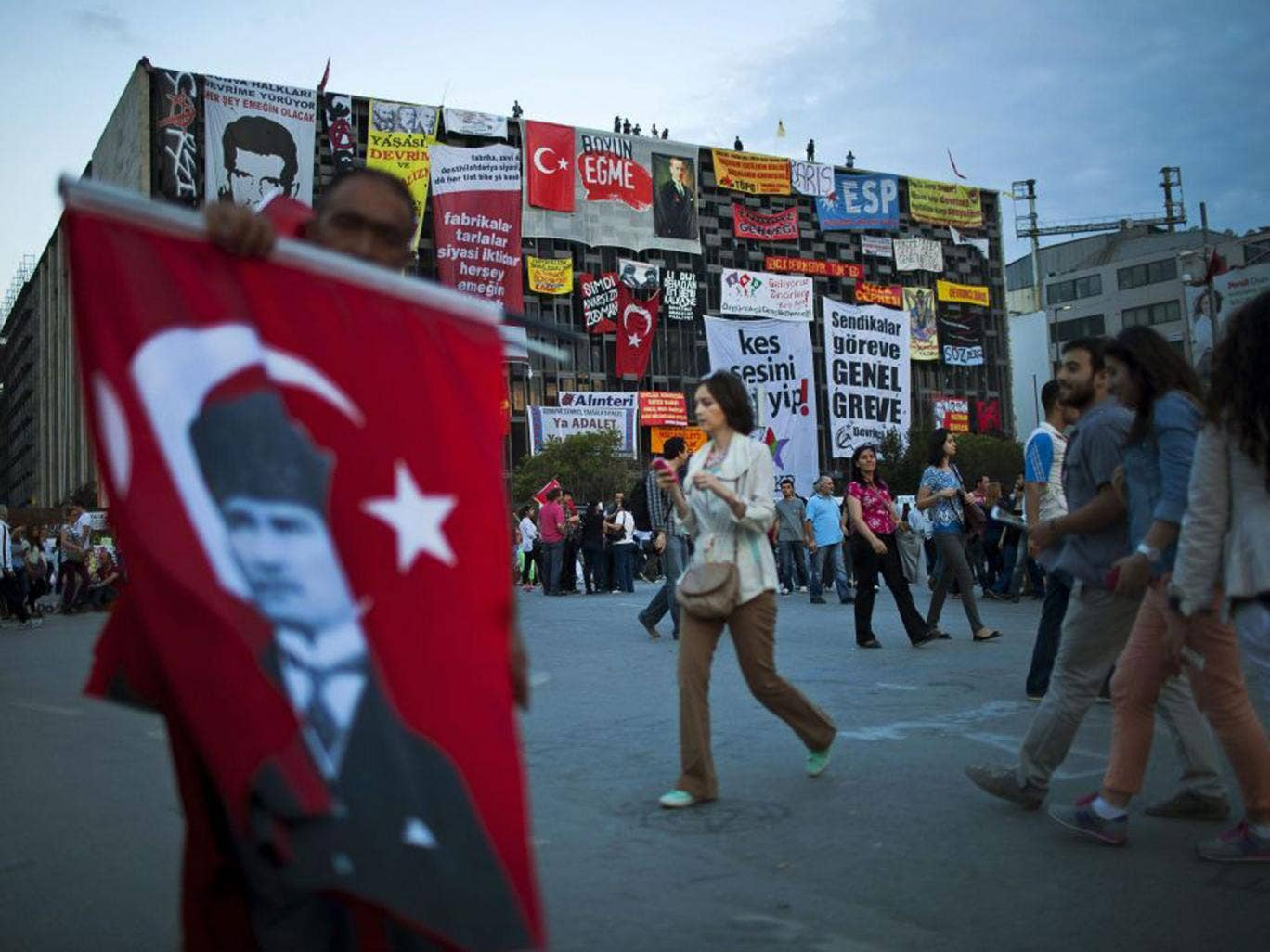 The government miscalculated its response to the demos in Istanbul