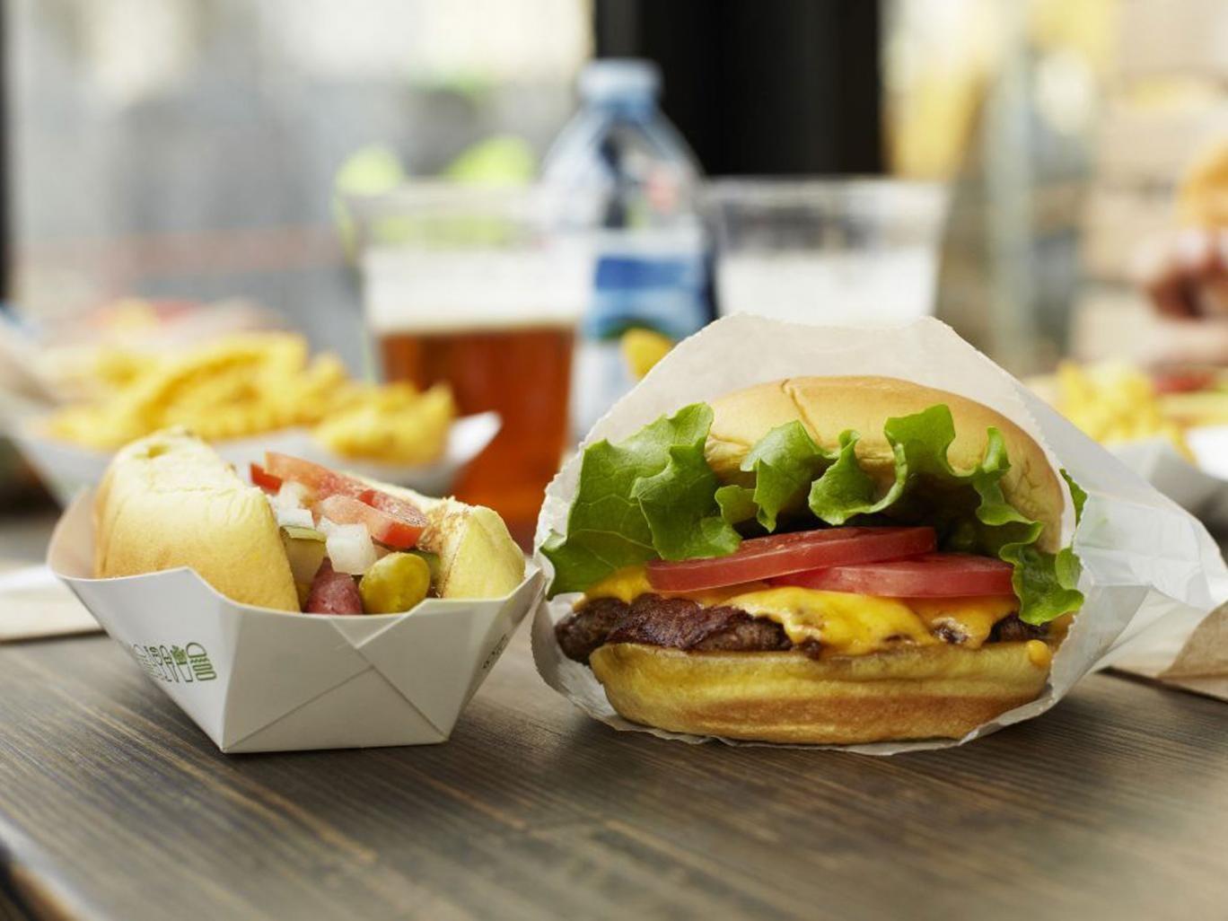 Shake Shack: Coming next to Britain's burgeoning burger market