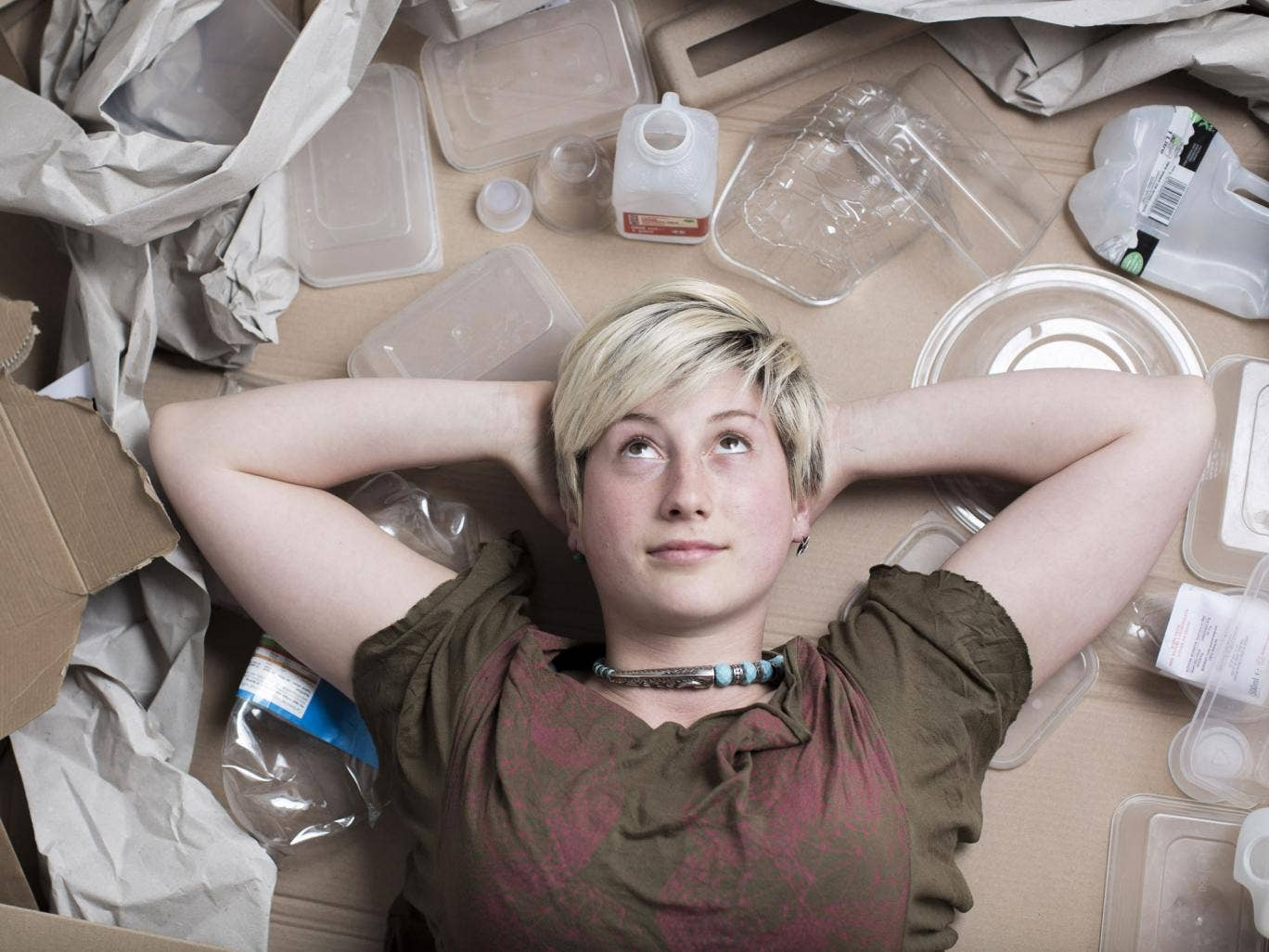 Plasticarian  Beatrice Bliss, 25, says the key to success is to be organised
