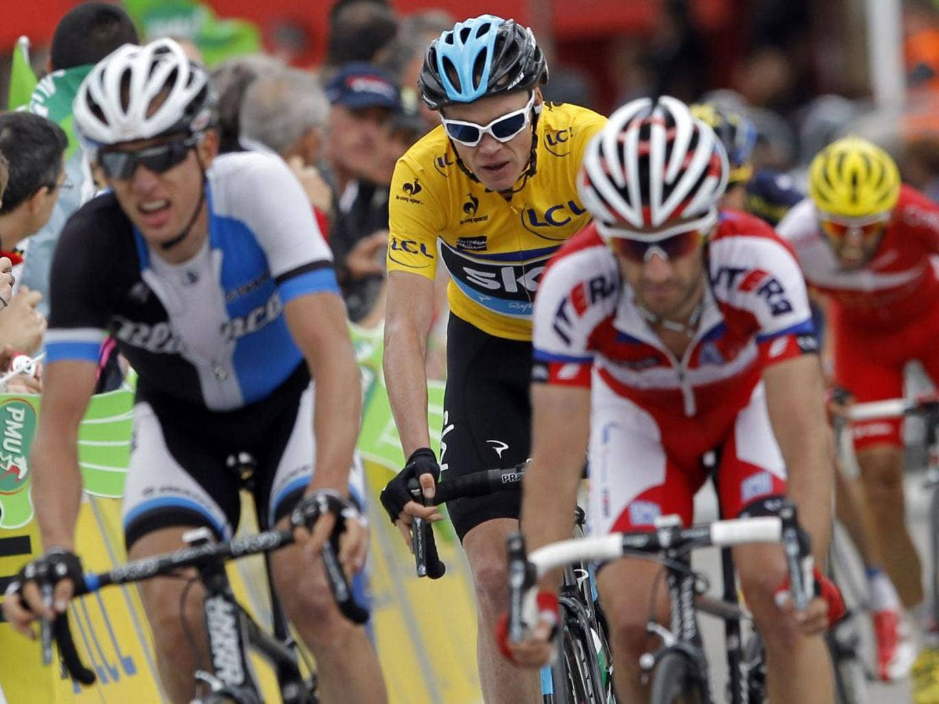 Chris Froome's measured ride in yesterday's stage keeps him on track to win the Critérium du Dauphiné