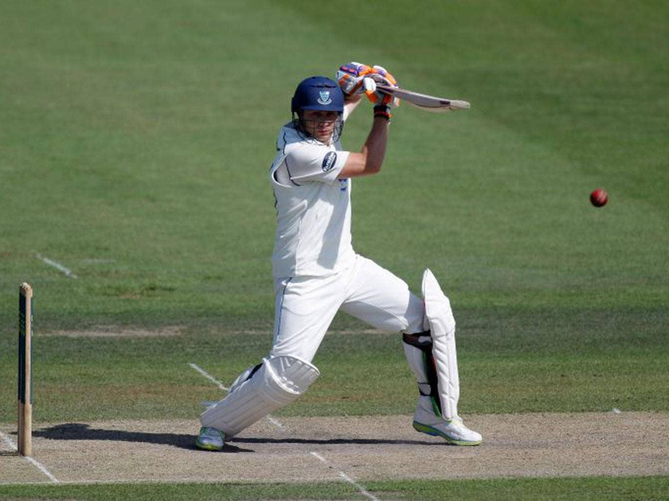 Unlikely hero: Luke Wright, dropped twice, hit 25 fours en route to his 187