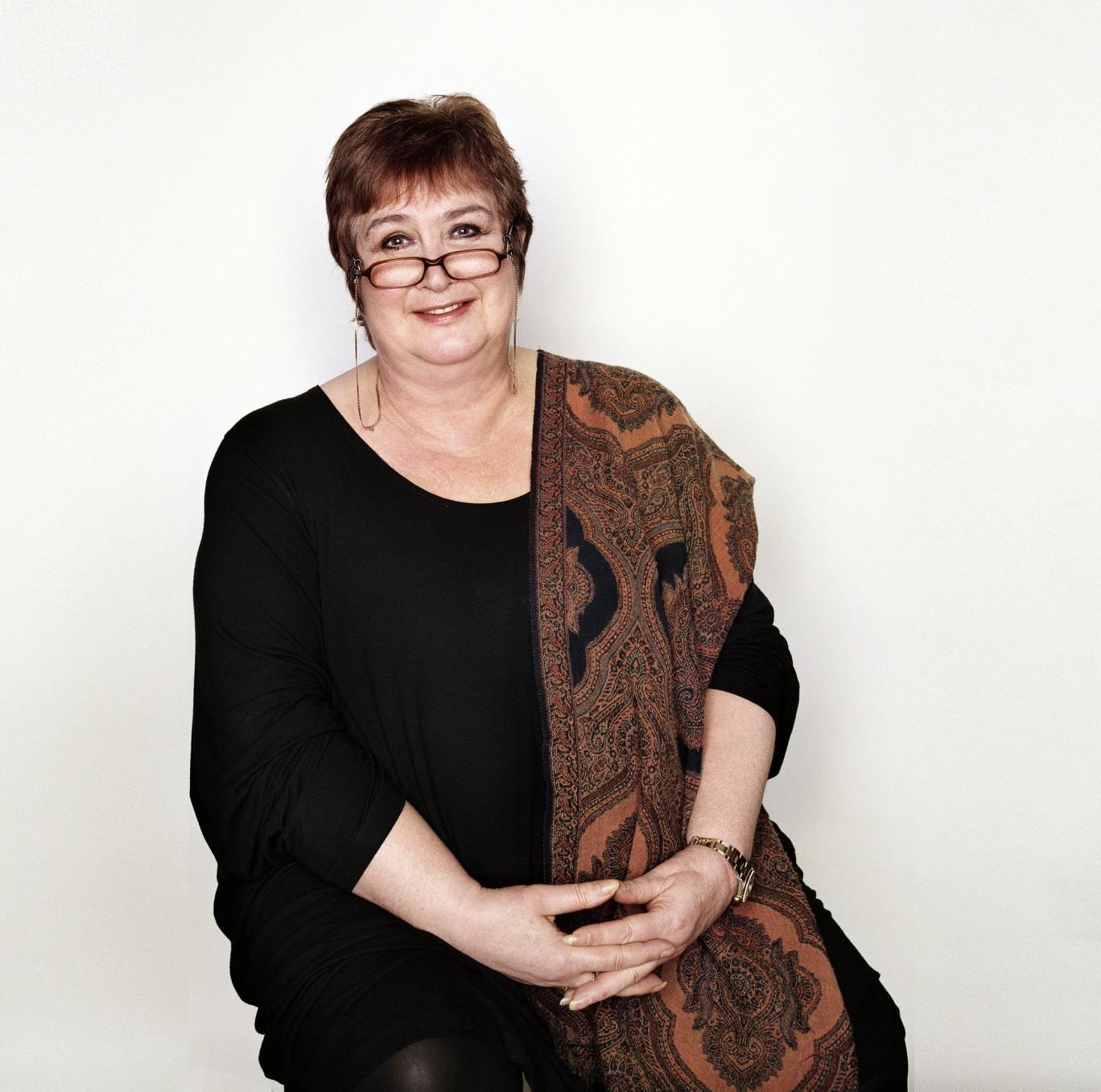 Presenter of Woman's Hour, Jenni Murray