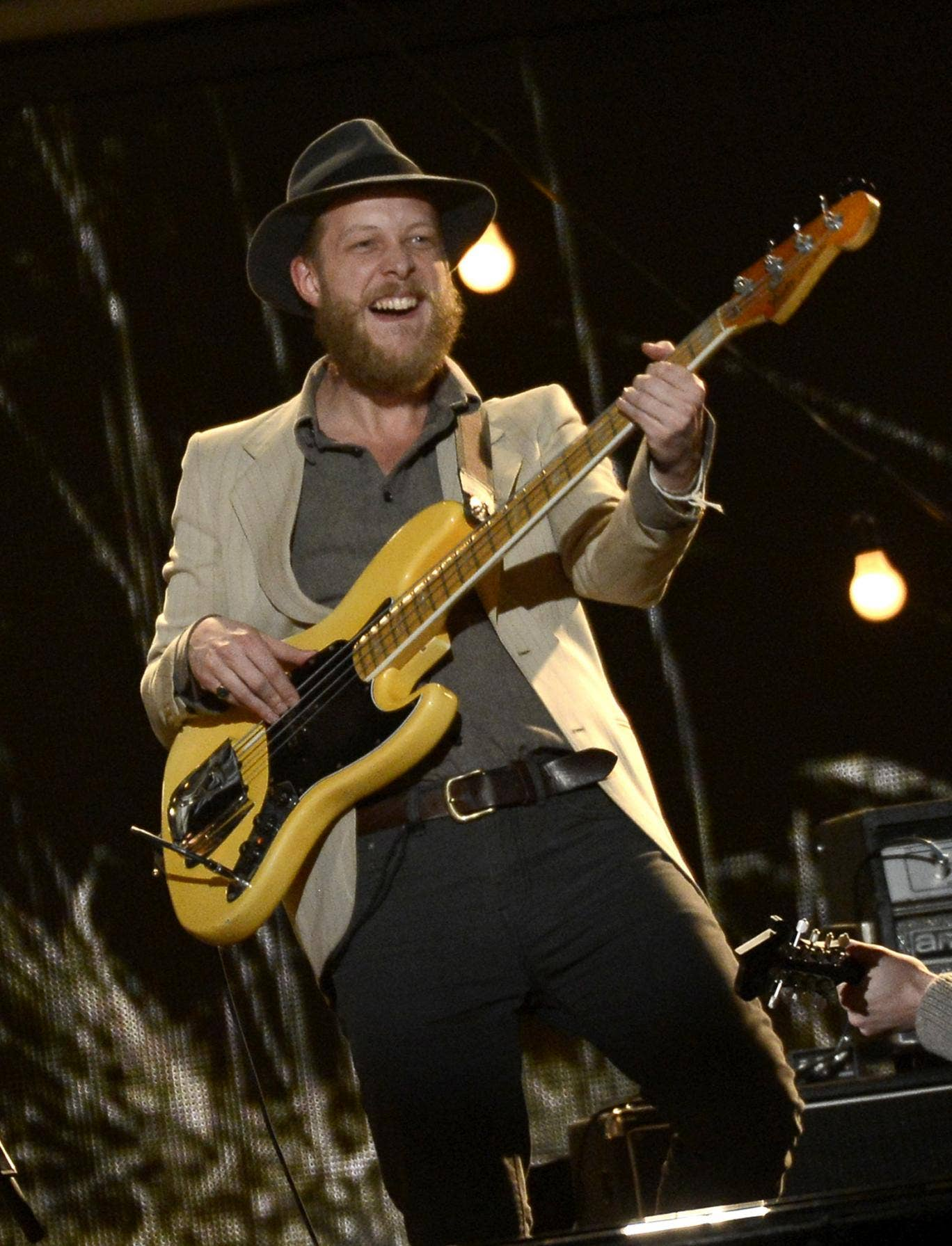 Mumford & Sons bassist Ted Dwane is currently receiving emergency treatment in hospital.