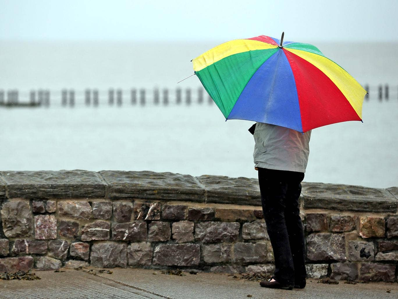 The Met Office said we are experiencing a 'typical British summer'