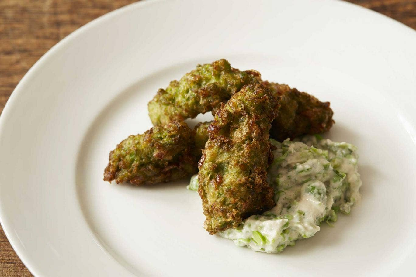 Serve pea and ham fritters as snacks with drinks, or as a starter