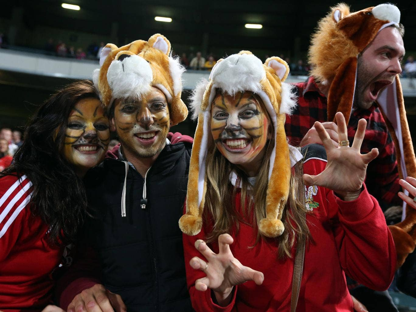 Australia fans are eager not to be outnumbered by those supporting the Lions