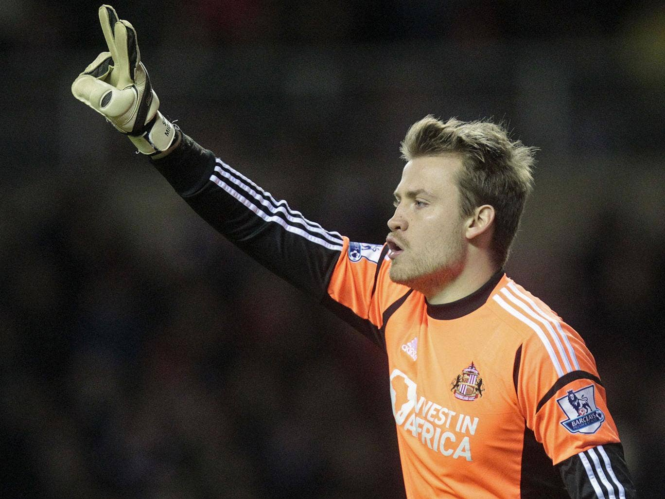Mignolet, 25, has been in fine form for Sunderland, attracting the attention of Arsenal manager Arsene Wenger and former Manchester United boss Alex Ferguson
