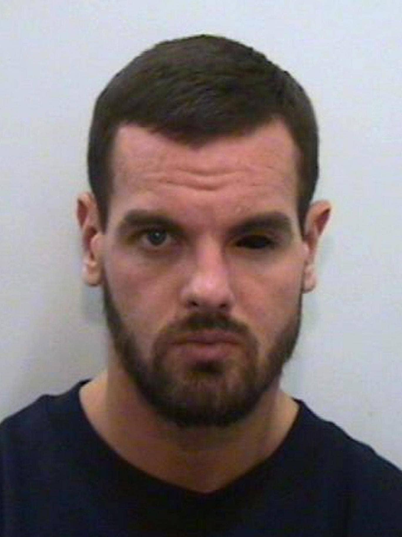 Greater Manchester Police handout photo of Dale Cregan who is set to die in prison with a whole life sentence for murdering four people after his long-running trial came to an end today