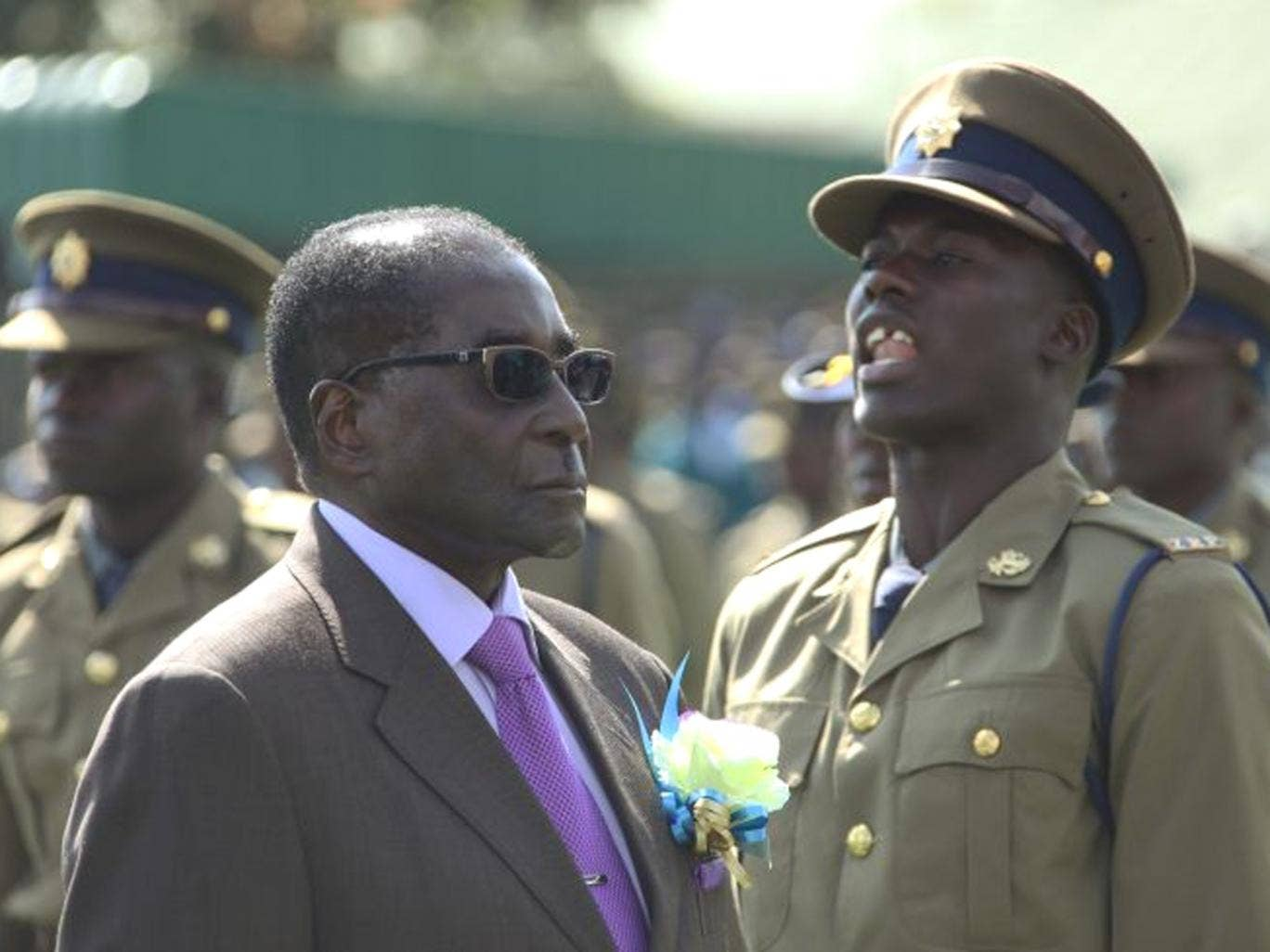 President Robert Mugabe has been accused of 'frog marching' Zimbabweans towards another 'illegitimate and violent' election after unilaterally declaring 31 July as polling day