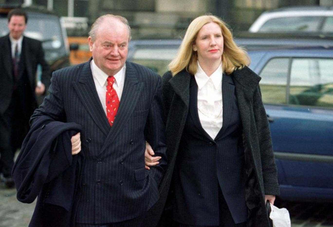 Wray and his wife Laura; he was popular with many of his parliamentary colleagues, though not all