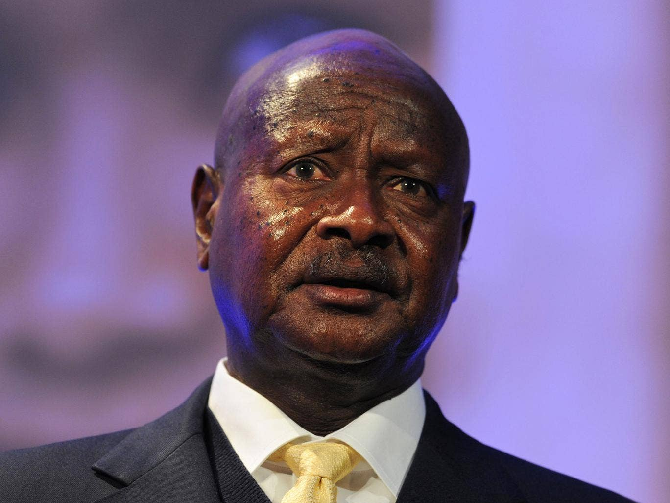 The manhunt for Sejusa has been seized upon by opponents of the Ugandan president Yoweri Museveni, pictured, who has received extensive political and financial support from various British governments