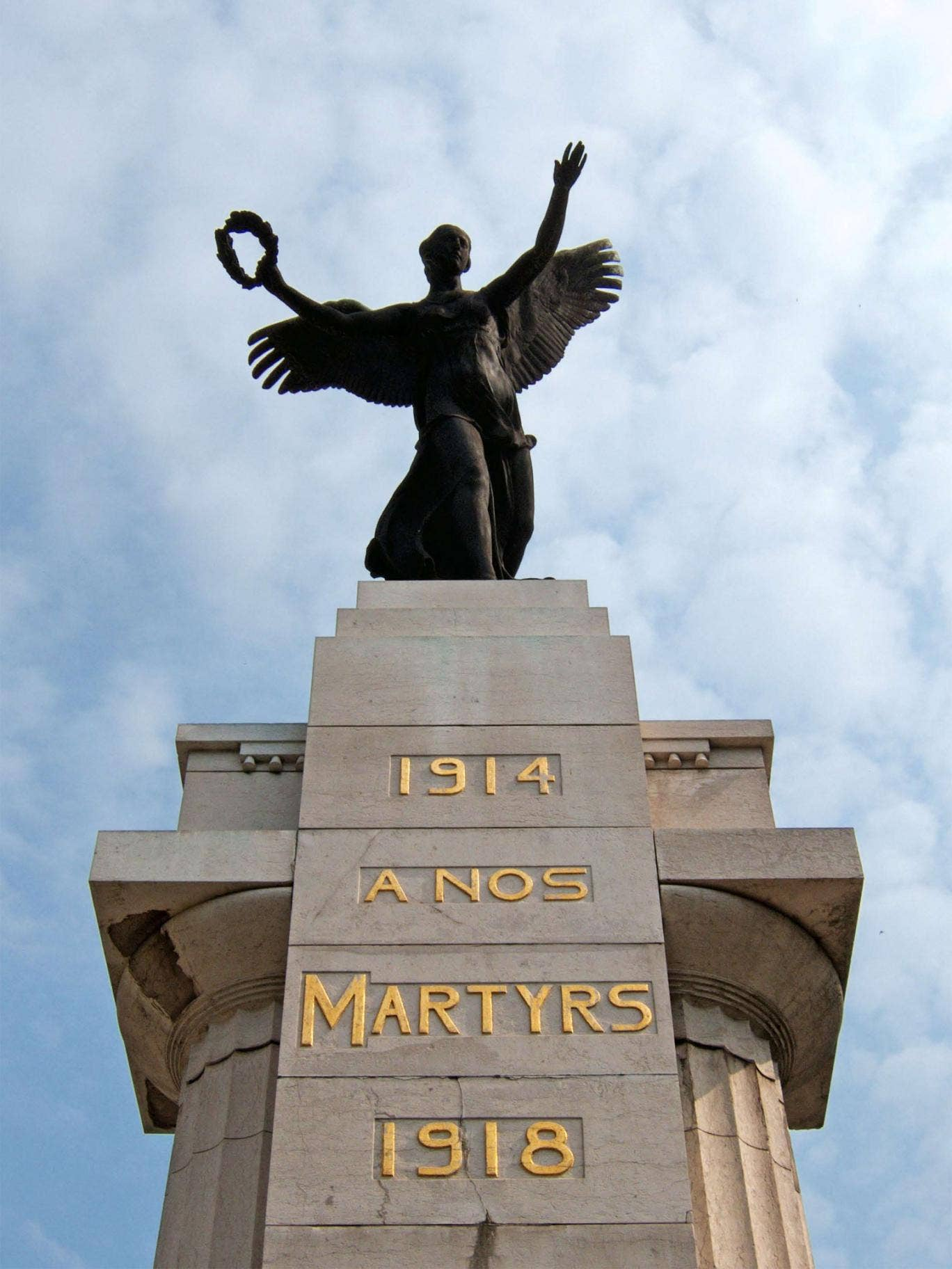 Detail from the Monument to the Martyrs of the Two World Wars, Charleroi