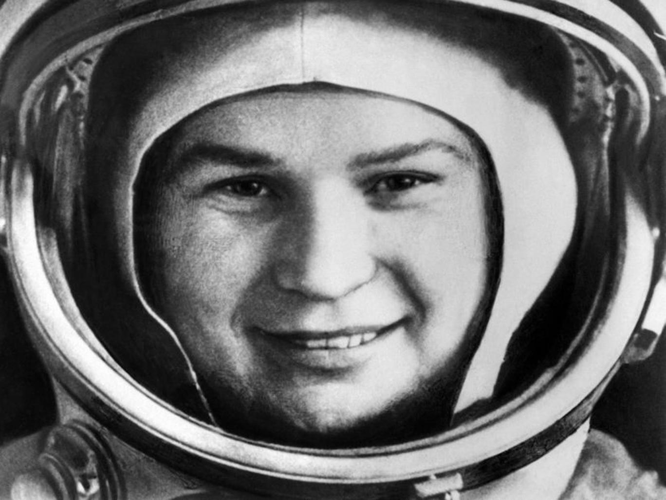 Tereshkova in space