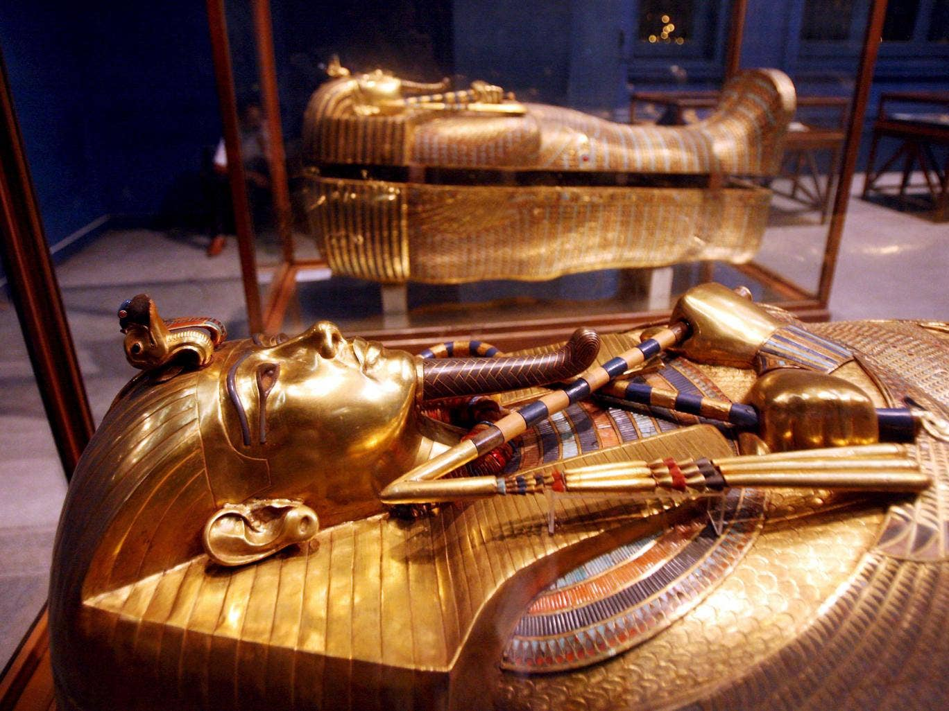 Golden wonder: Now is the time to take advantage of the lack of crowds and visit Cairo's Egyptian Museum