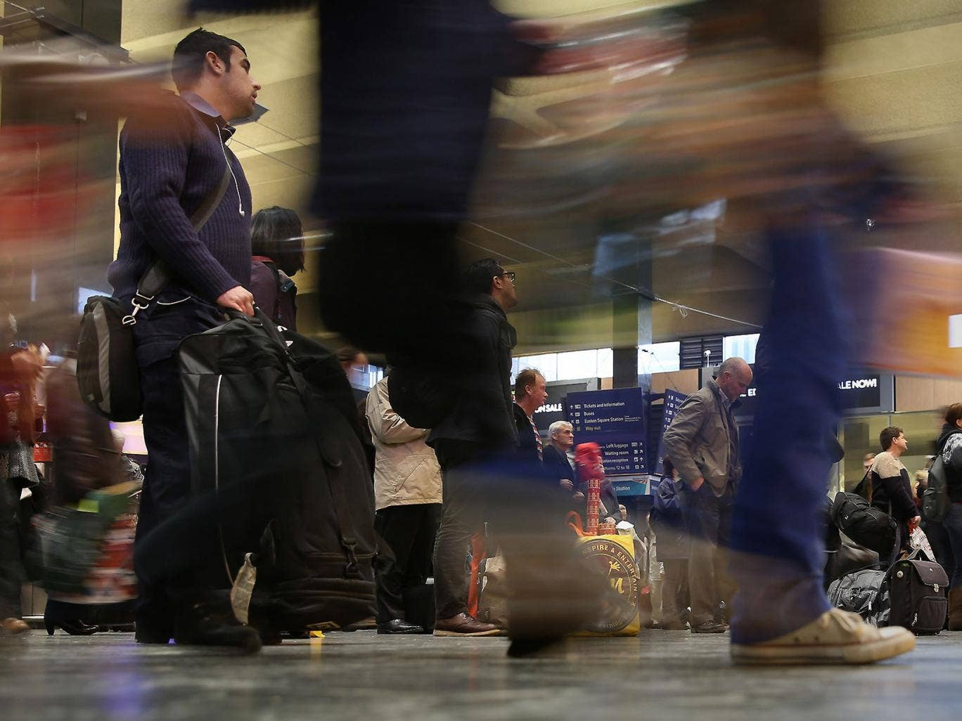 Many adults who go missing lose themselves in the crowds at railway stations