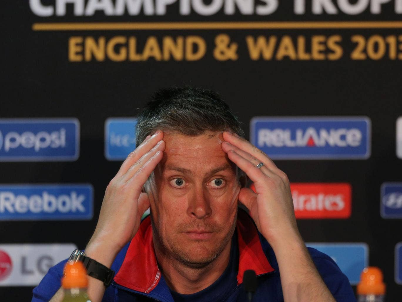 Face facts: Ashley Giles is insisting his limited-overs side play hard but fair