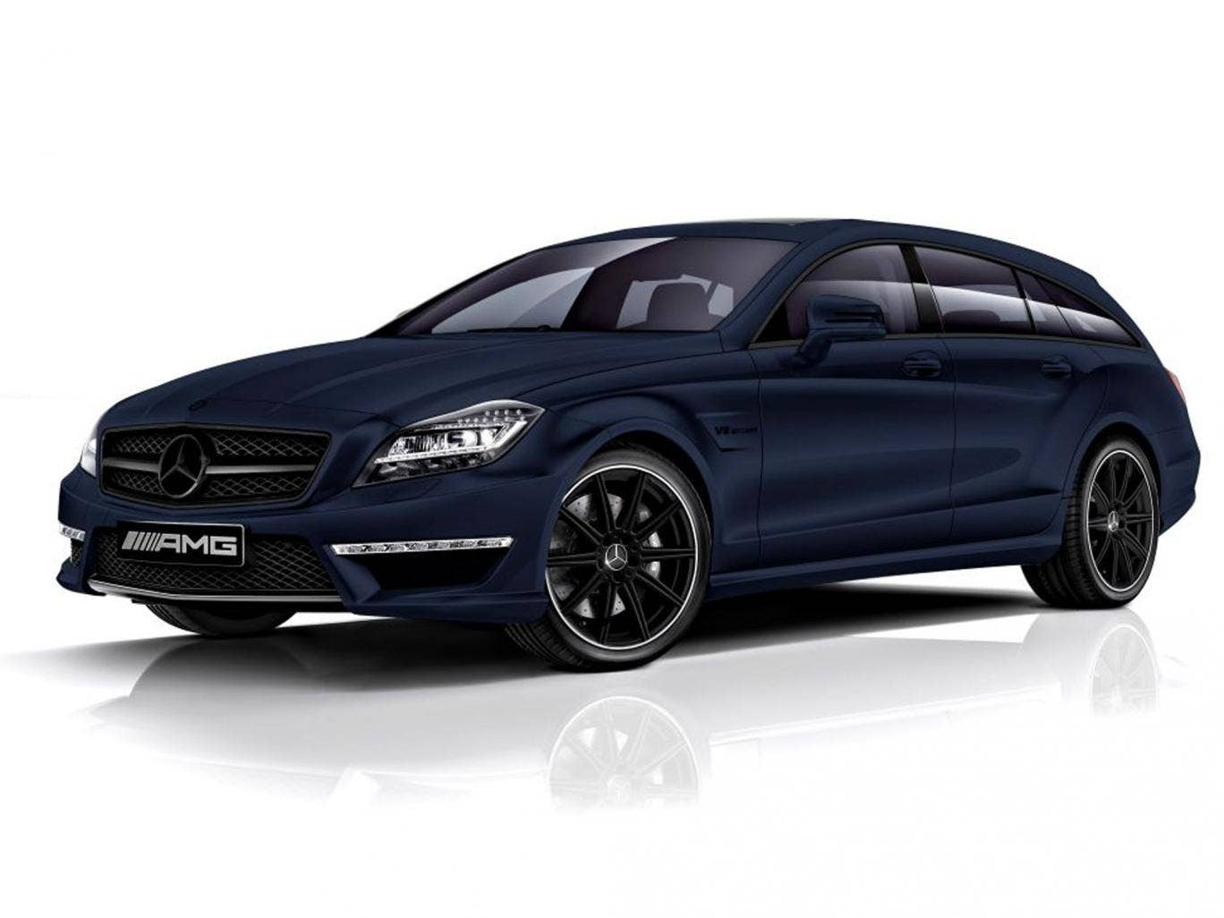 Mercedes-Benz has teamed up with London tailor Nick Hart of Spencer Hart to tailor a Merc CLS 63 AMG Shooting  Brake like a matinee idol