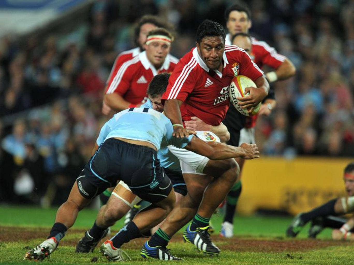 `Mako Vunipola has been a revelation throughout  his first season in international rugby