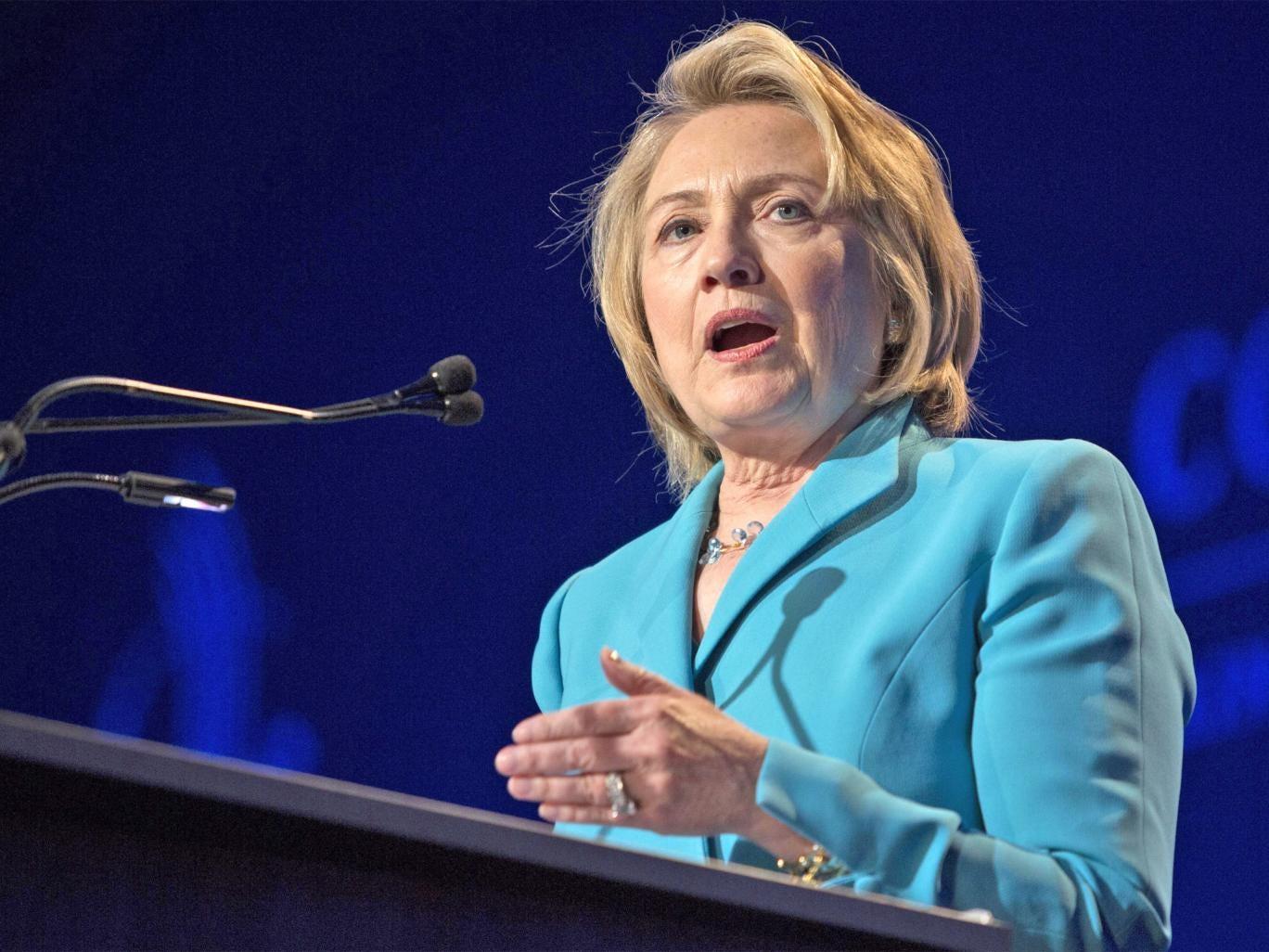 Former US Secretary of State, Hillary Clinton