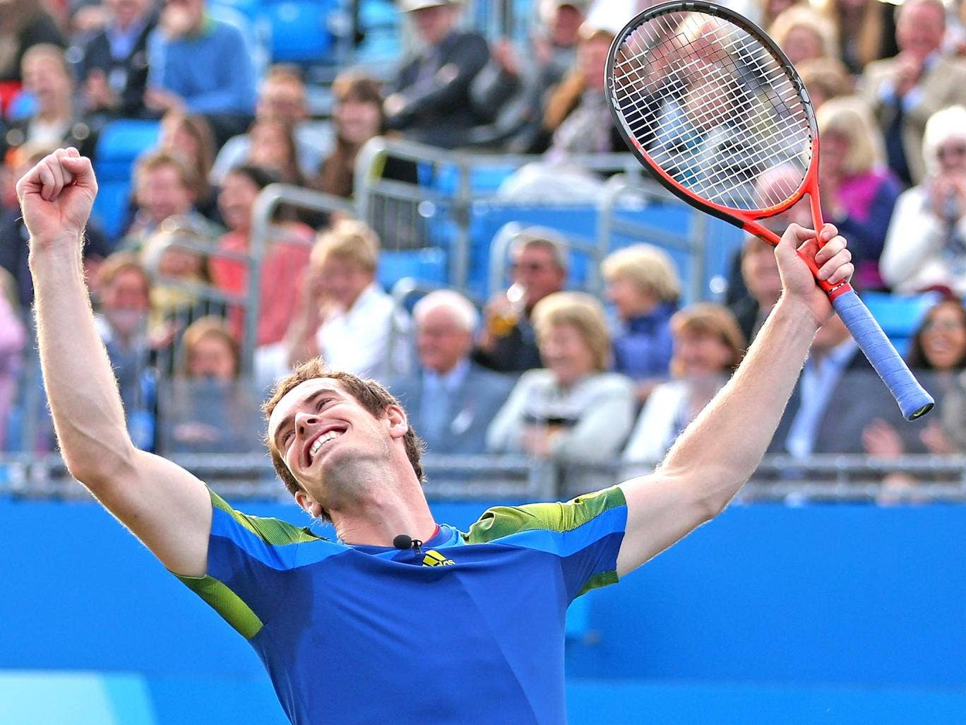 Murray is hoping to avenge his defeat in last year's final