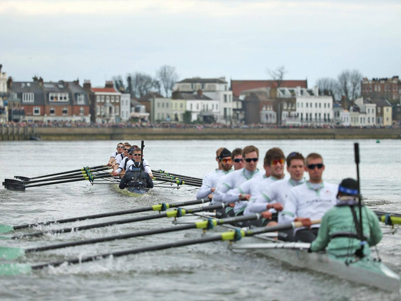 The Boat Race between Cambridge and Oxford universities is one of the most prestigious events on the sporting calendar