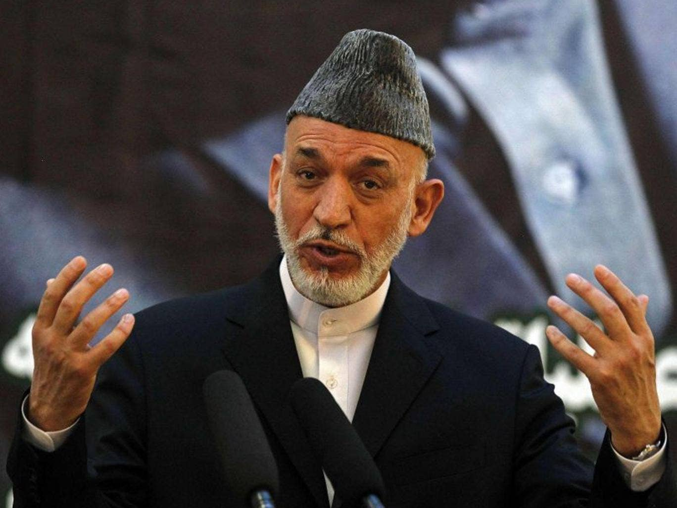 In a terse statement Hamid Karzai said negotiations with the US on what American and coalition security forces will remain in the country after 2014 have been put on hold