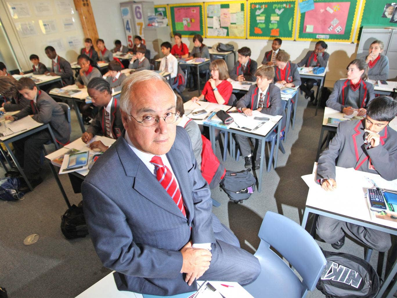 Sir Michael Wilshaw, head of education standards watchdog Ofsted
