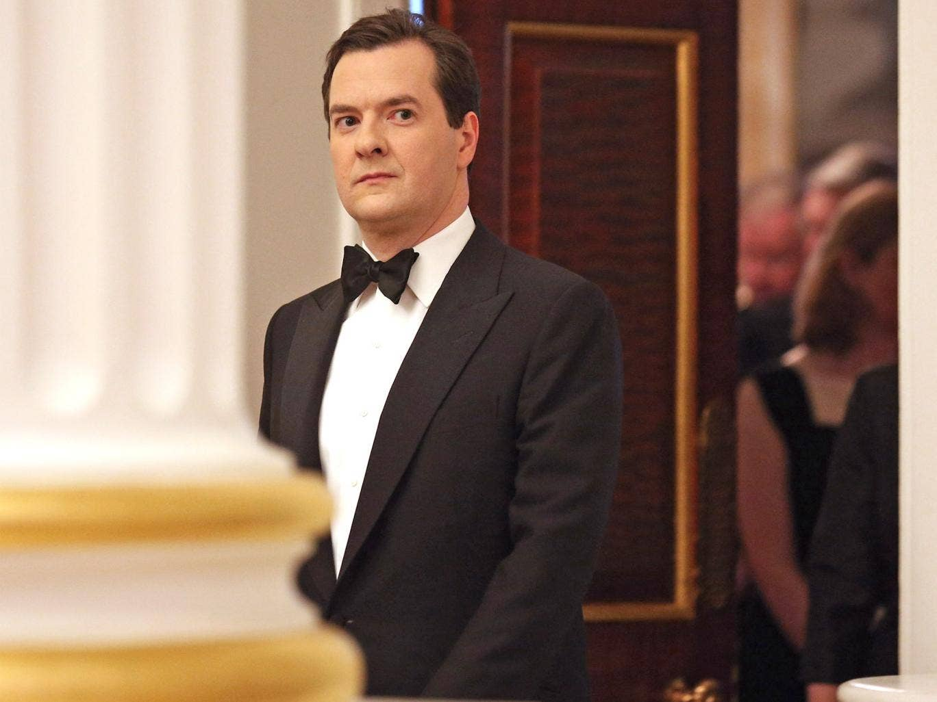Chancellor George Osborne, attends the 'Lord Mayor's Dinner to the Bankers and Merchants of the City of London', at Mansion House