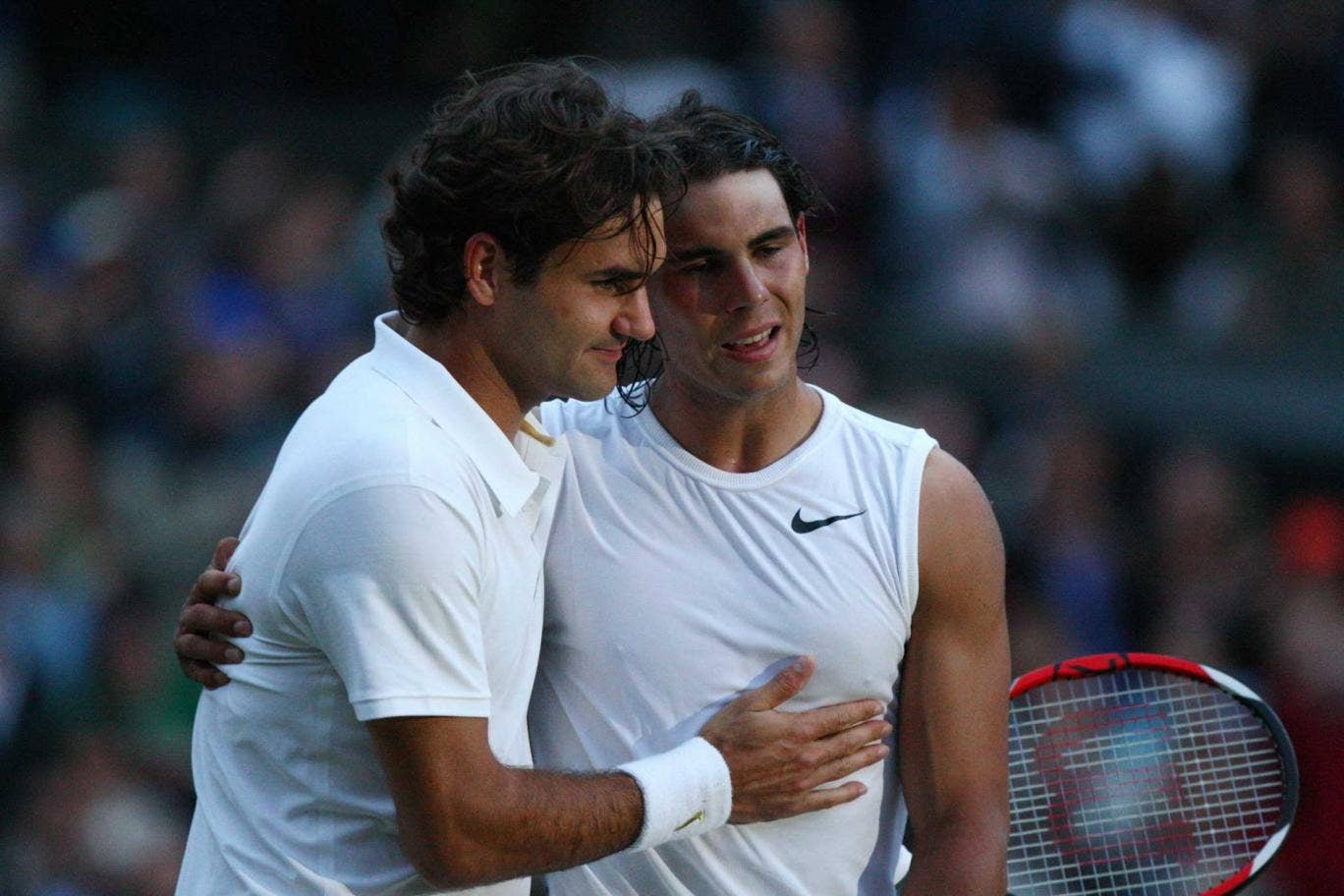 <p><strong>2008</strong></p> <p>Clay court specialist Rafael Nadal beat reigning champ Roger Federer in an unforgettable five-set final</p>