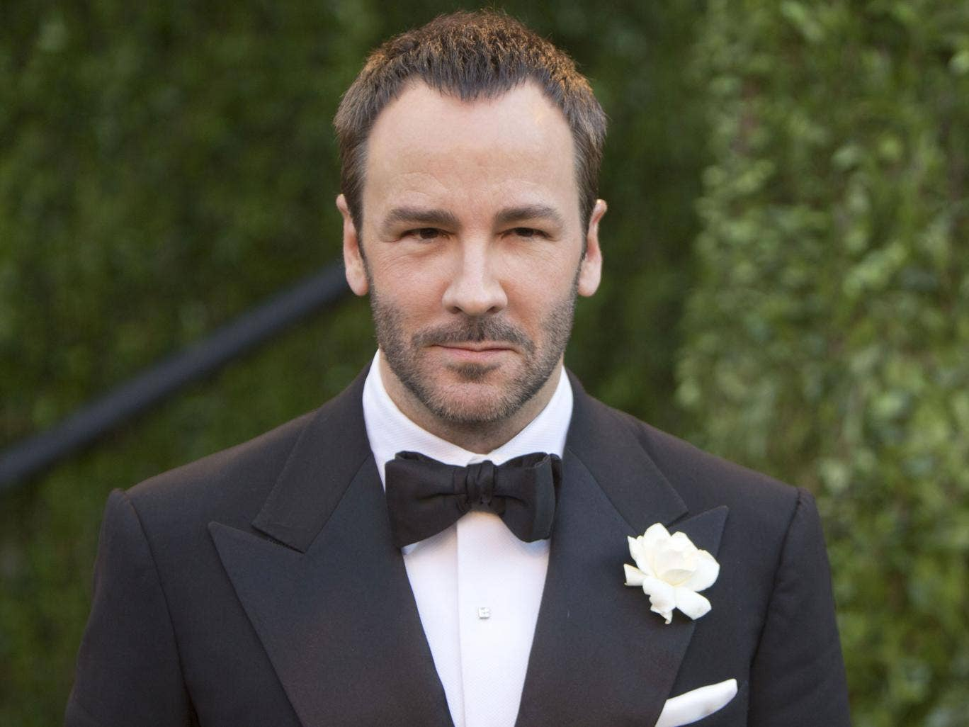Tom Ford: the designer will launch cosmetics for men