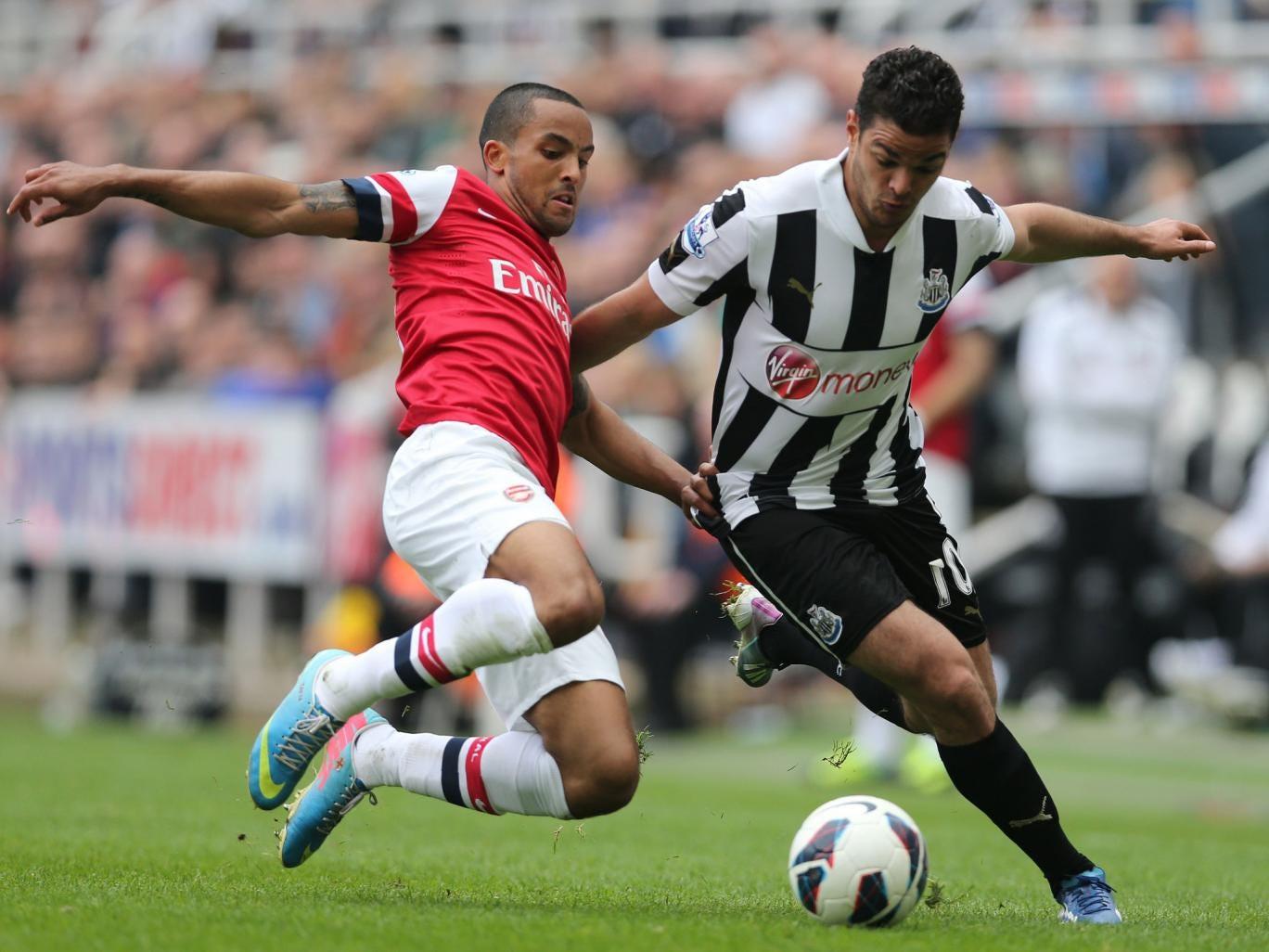 Hatem Ben Arfa (right) has impressed at Newcastle despite injury