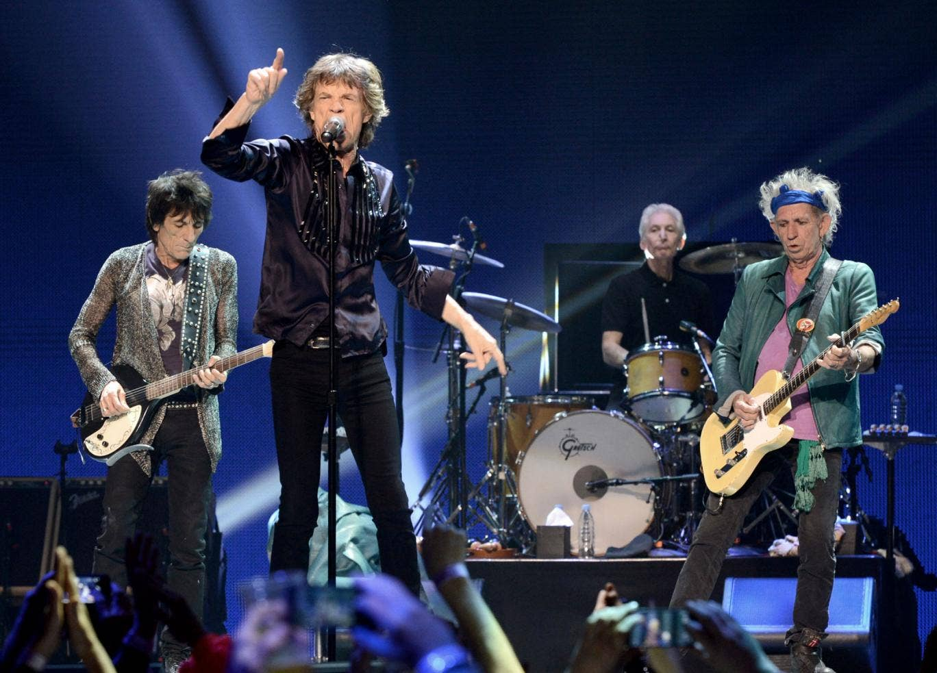 The Rolling Stones will be dropping off at Worthy Farm on their 50 and Counting anniversary jaunt