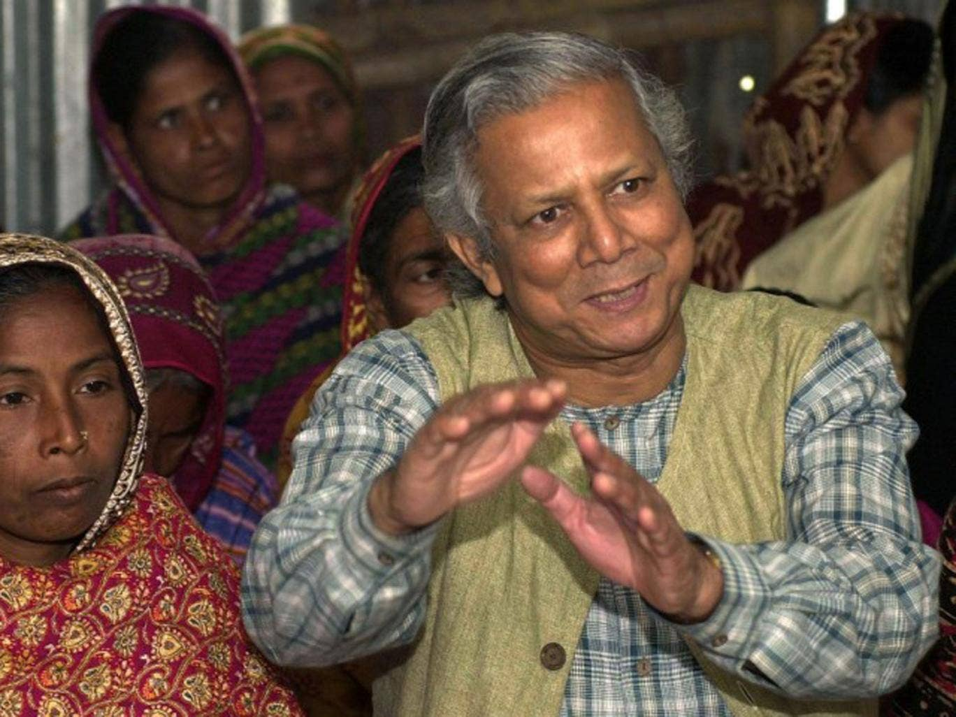 Professor Mohammed Yunus, founder of Grameen Bank