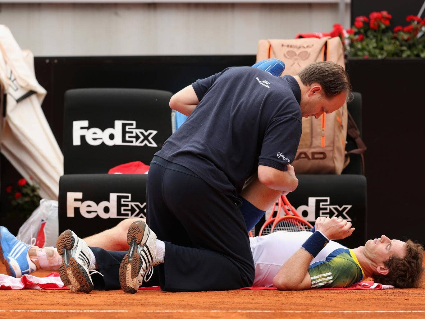 Andy Murray, Rafael Nadal and Novak Djokovic have all suffered lengthy injury absences over the last 12 months