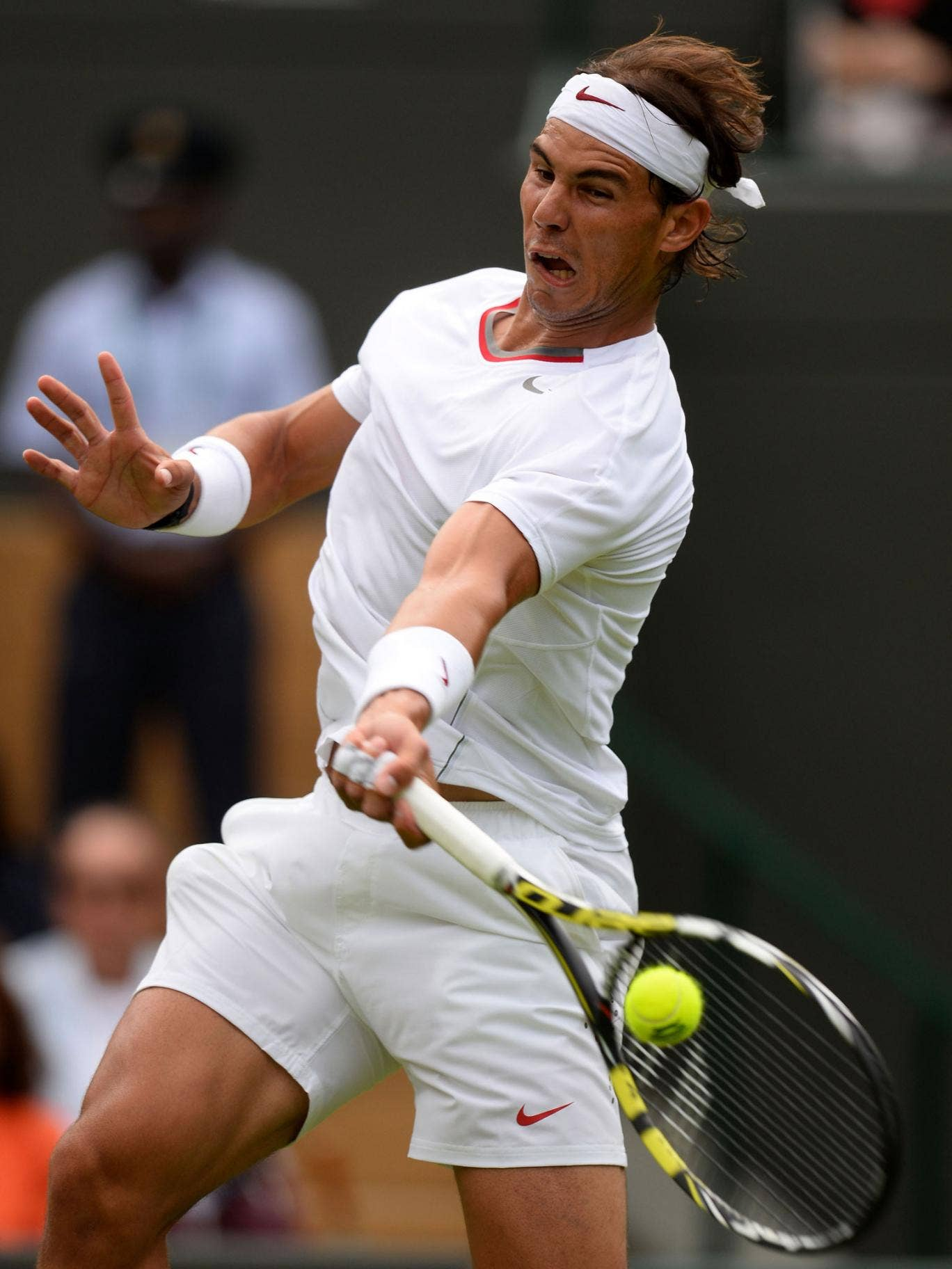 Rafael Nadal was beaten in straight sets by Steve Darcis