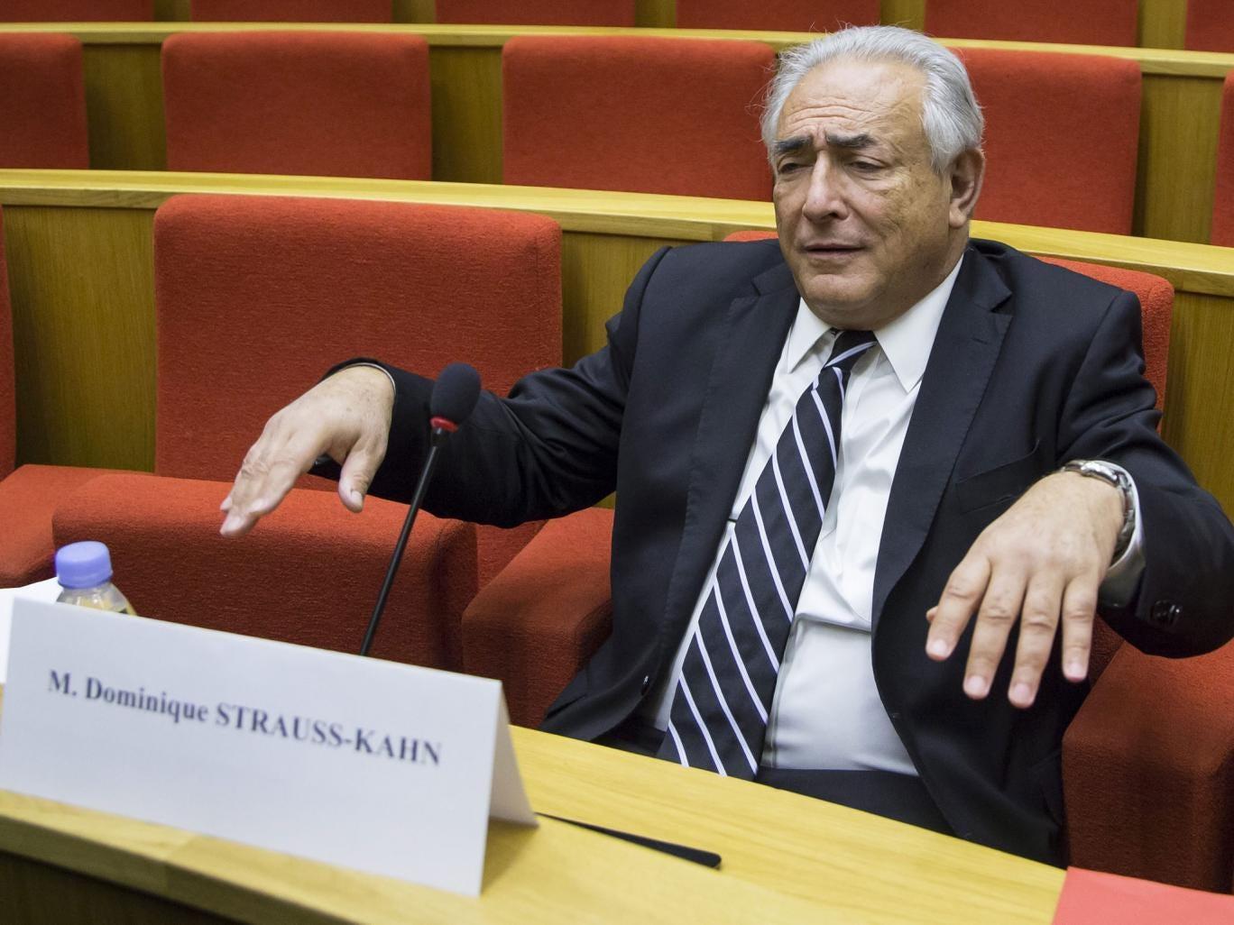 Disgraced French politician Dominique Strauss-Kahn