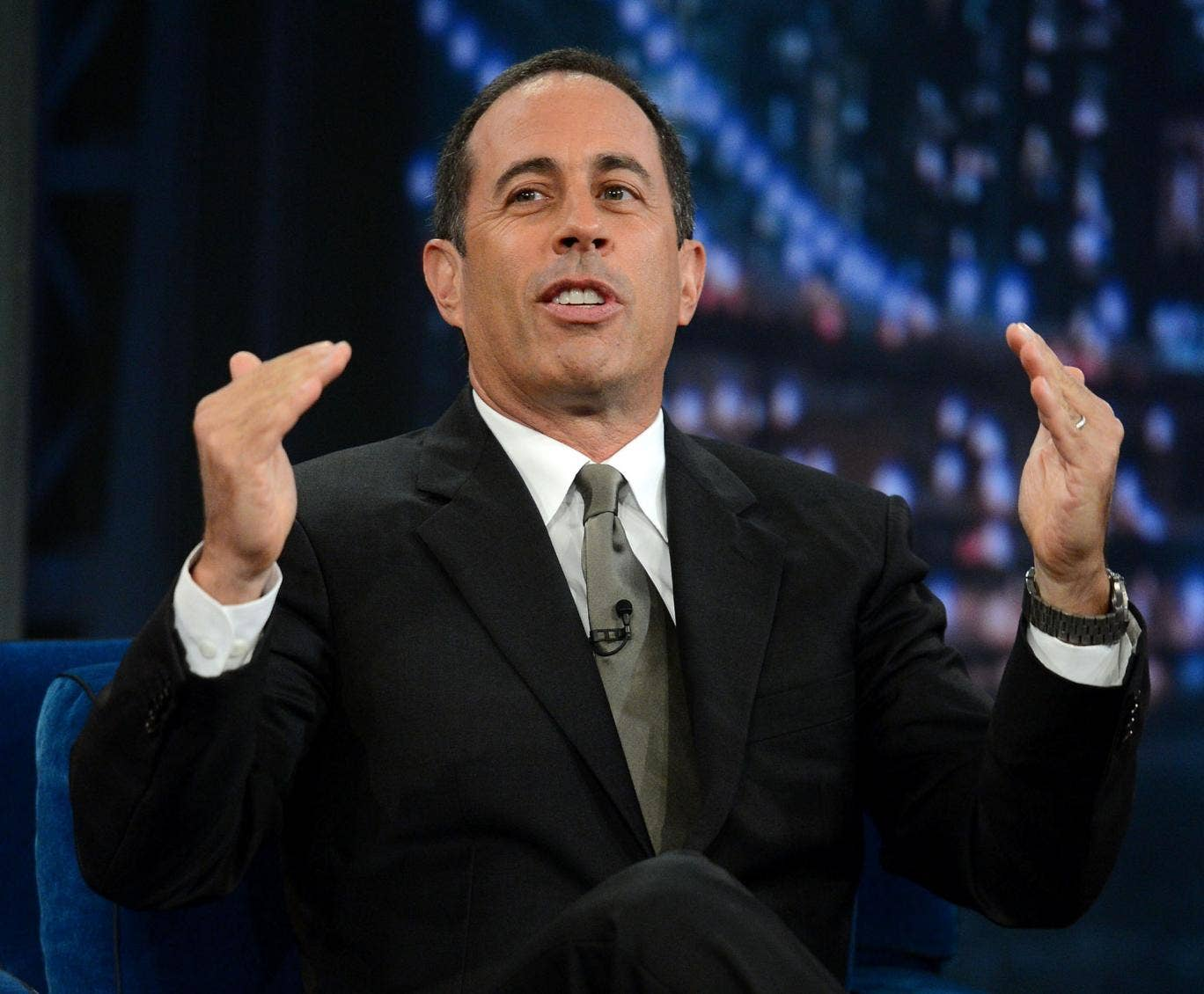 Jerry Seinfeld has collaborated with Wale on his new album