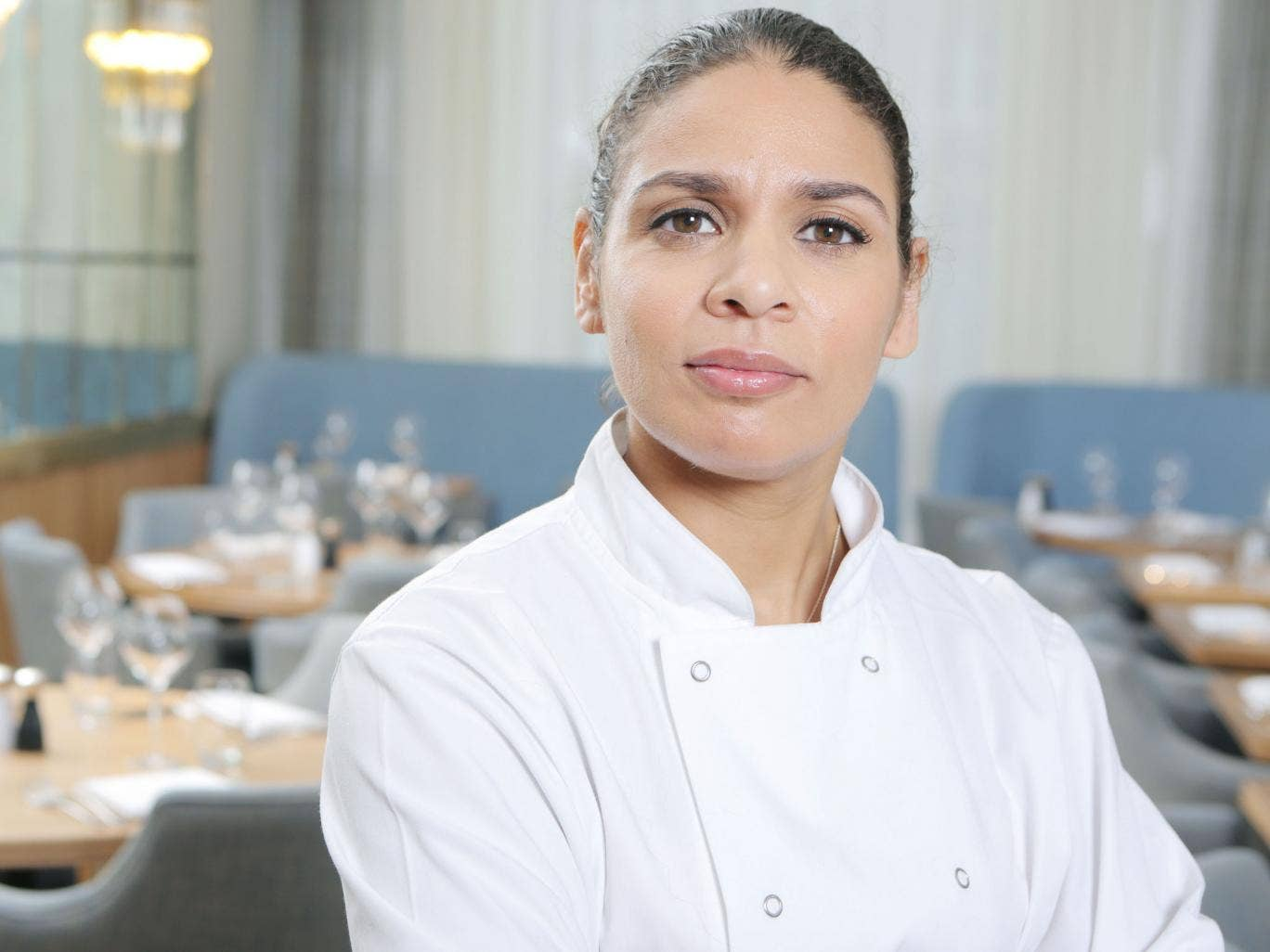 Moss opened her first restaurant - the Corner Restaurant and Champagne Bar - in March at Selfridges