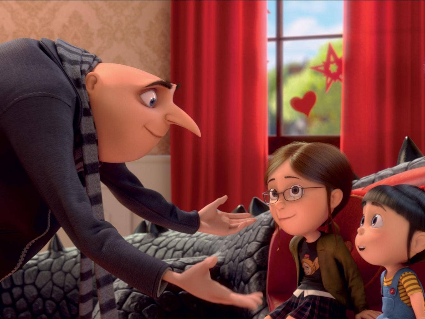 Palmed off on kids: Steve Carell voices Gru in 'Despicable Me 2', a sequel with nothing for adults