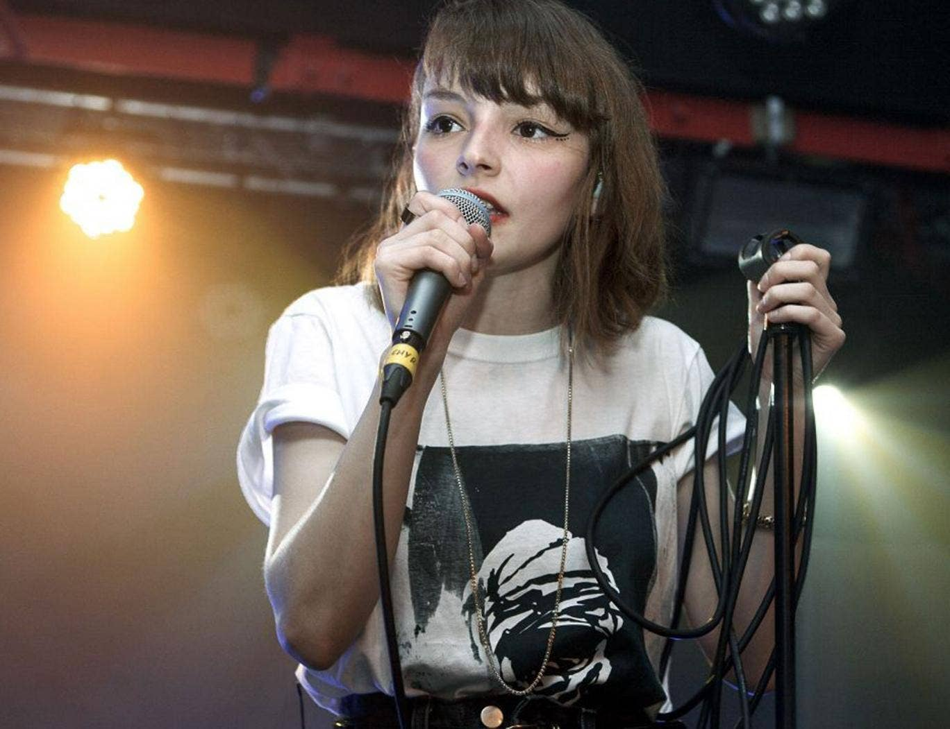 Keep the faith: Lauren Mayberry of Chvrches