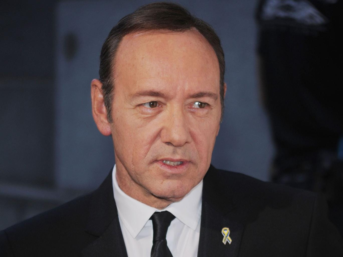 The actor Kevin Spacey provided a character reference