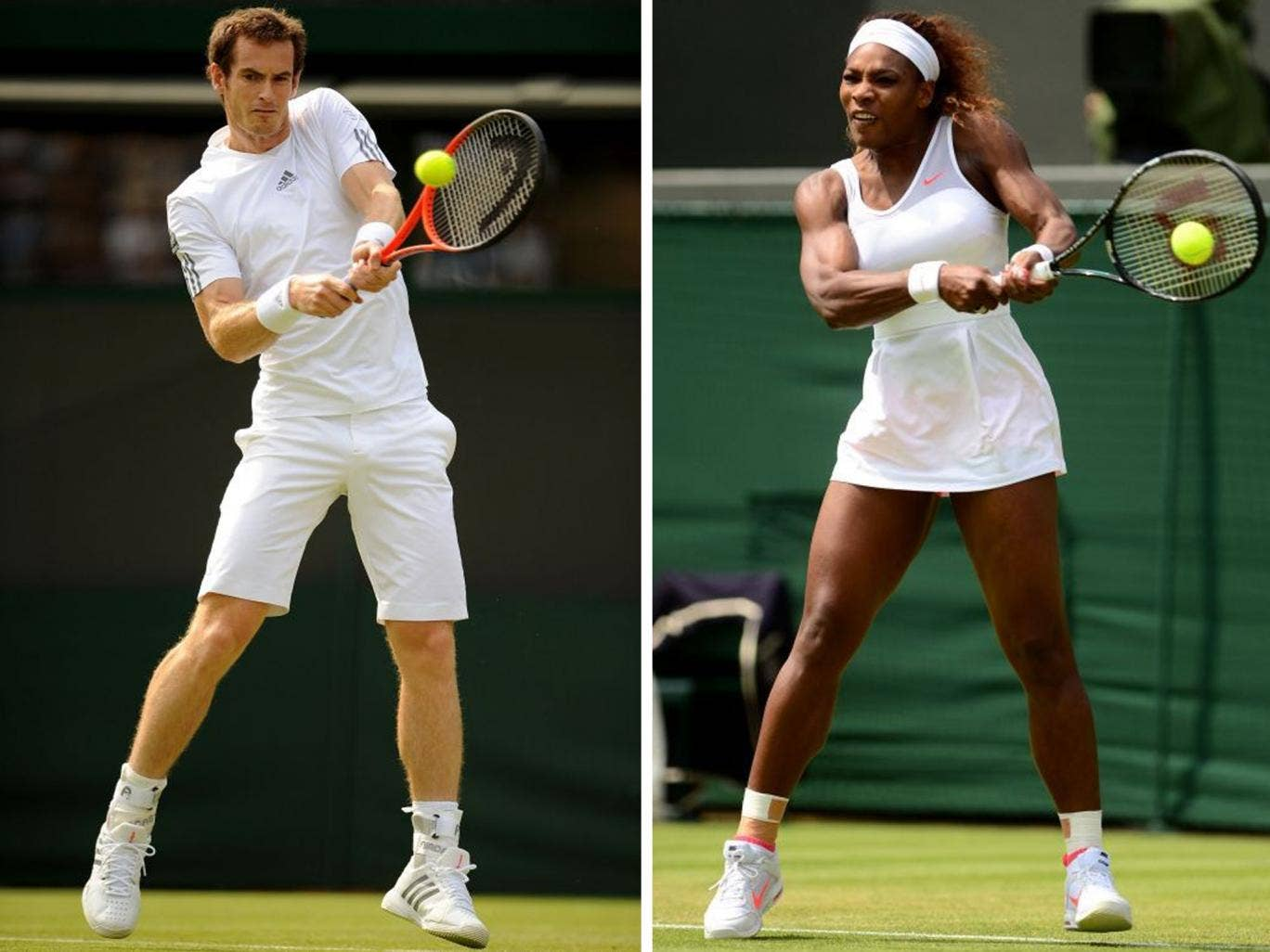 Andy Murray v Serena Williams? I'd be up for it, he says. That would be fun, she says.